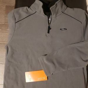 Kids Quarter Zip, size L (11-14)